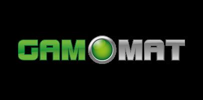 Gamomat logo - Wildz Casino