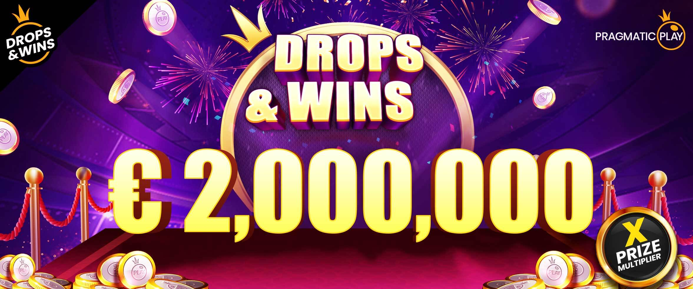 Over $100K Won in Drops and Wins Campaign