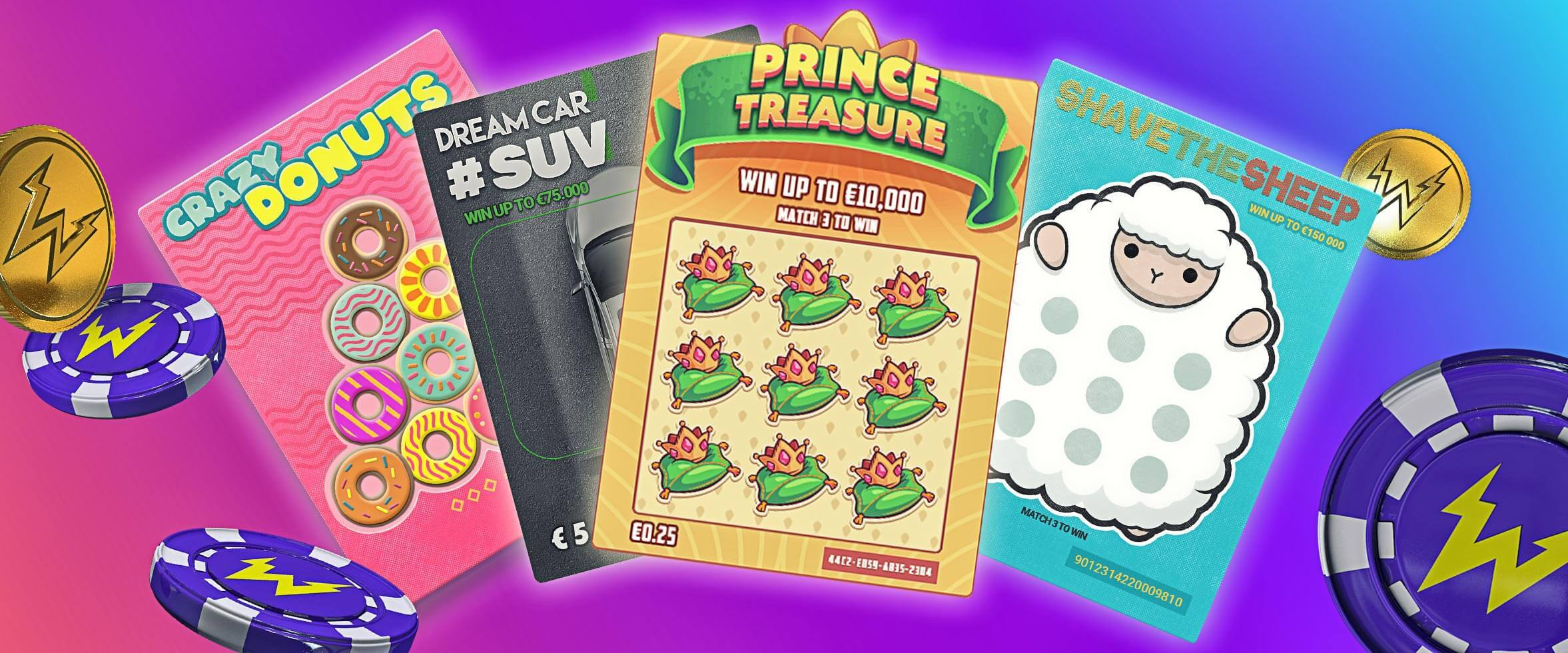 Have You Tried Our Scratchcard Games?