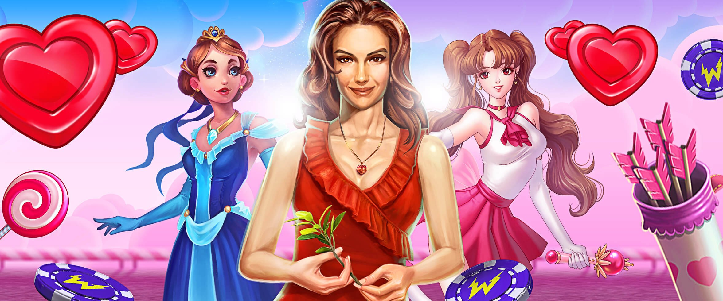 💘 Feel the Love With These Valentine-themed Slots 💘