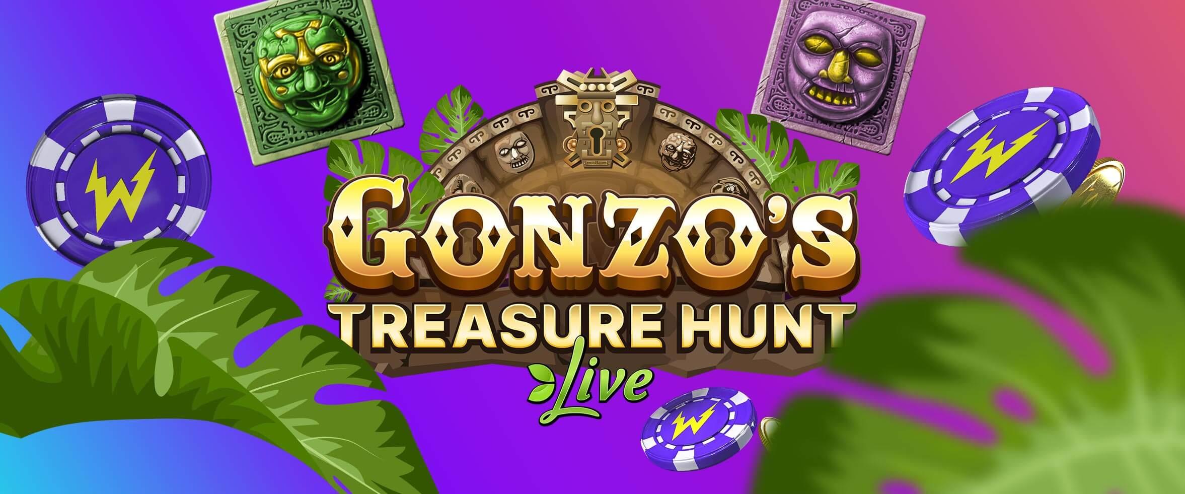 Jaamme 10 000 € edestä palkintoja Gonzon liittyessä Live Casinolle