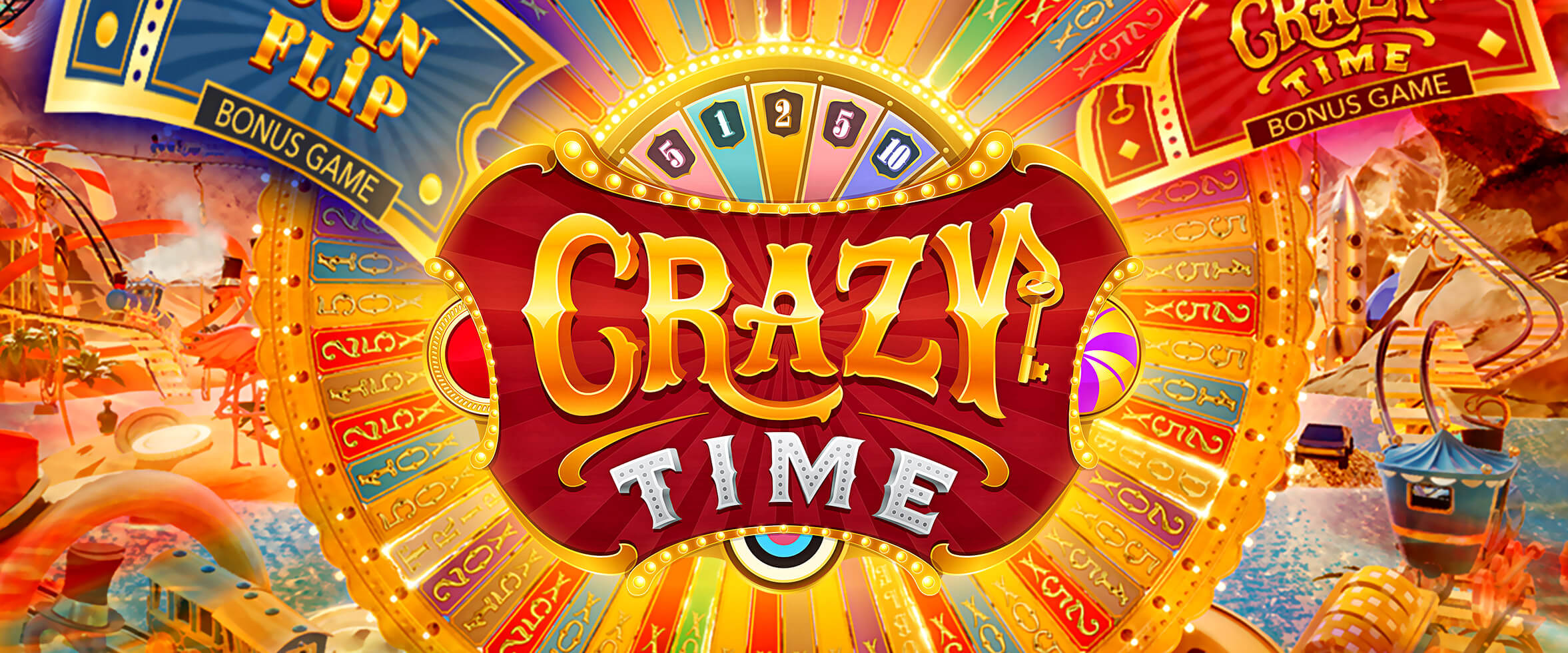 Palkintoja Crazy Time -peliin
